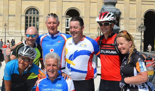 London to Paris Bike Ride 2016