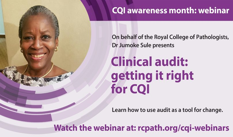 Clinical audit: Getting it right for quality improvement