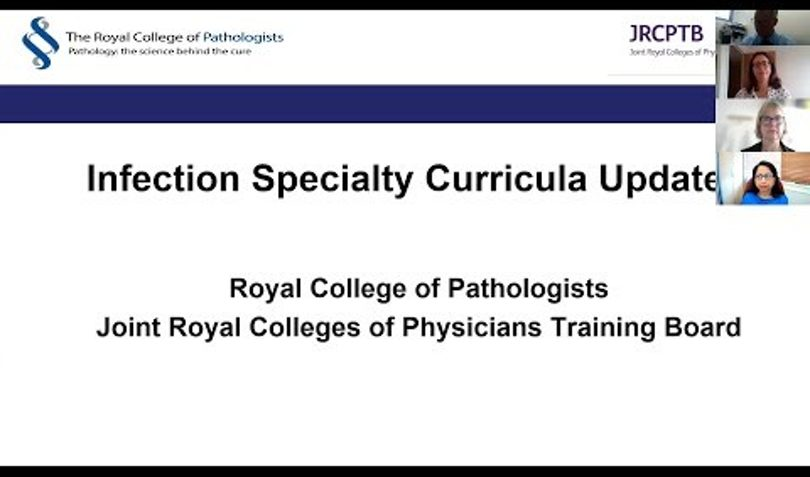 Infection Curricula Launch Event