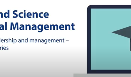 The Art and Science of Practical Management Core skills for leadership and management - week 1
