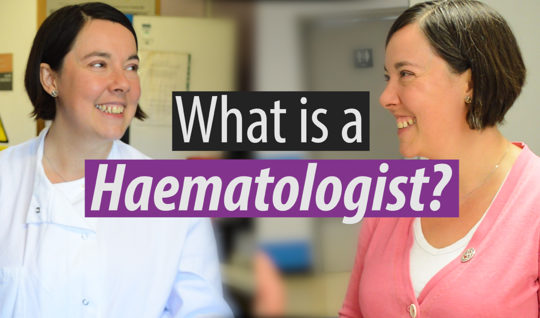 Find out what a haematologist does, by hearing from Dr Drasar