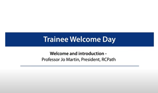 Welcome and introduction - Professor Jo Martin, President