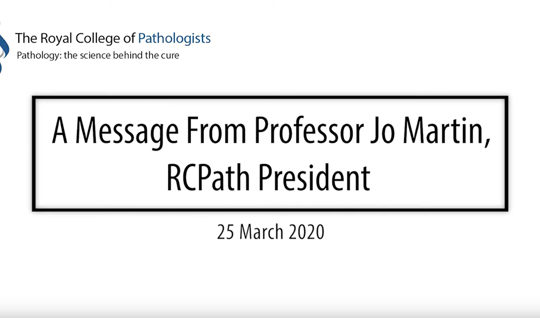 The President's update on COVID-19 – 25 March 2020