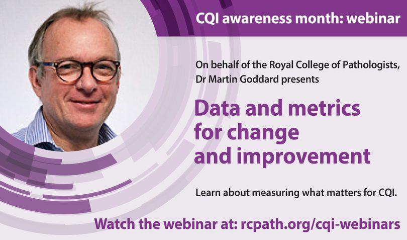Data and metrics for change and improvement