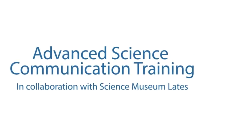 Advanced Science Communication Training