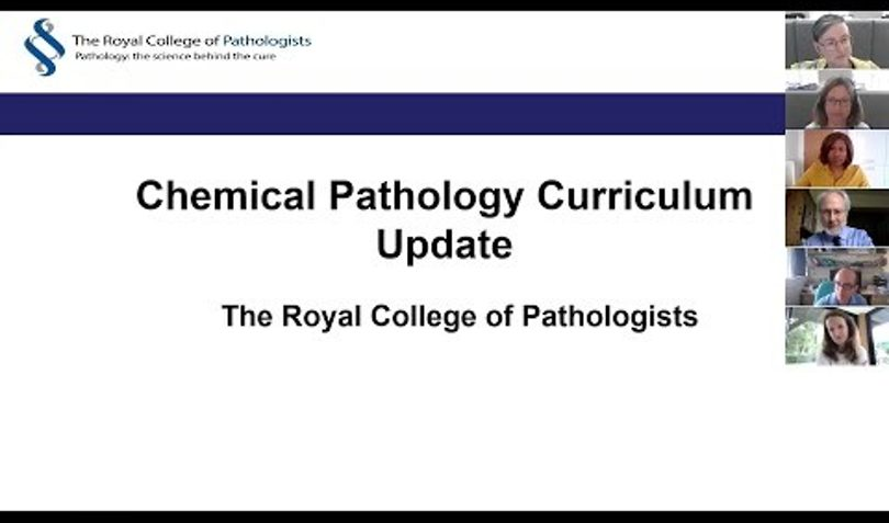 chemical pathology curriculum launch event