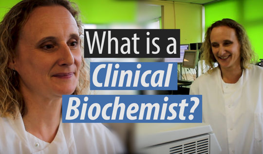 What is a clinical biochemist?